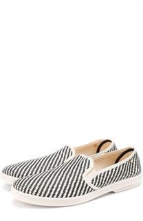 Плетеные эспадрильи с узором Rivieras Leisure Shoes