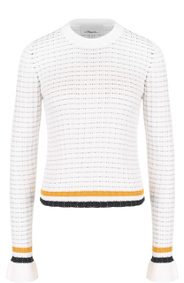 Облегающий пуловер с контрастной отделкой 3.1 Phillip Lim