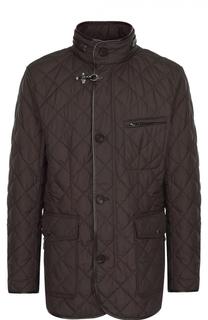 Удлиненная стеганая куртка на молнии Windsor