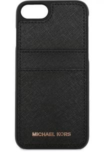 Чехол для iPhone 7 из сафьяновой кожи MICHAEL Michael Kors