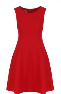 Приталенное платье-миди без рукавов Armani Collezioni