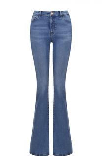 Расклешенные джинсы с декоративными потертостями MiH Jeans