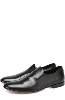 Классические кожаные туфли без шнуровки Raparo