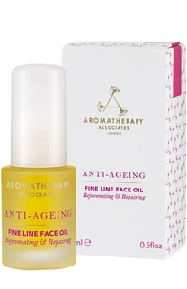 Обогащенное anti-age масло против морщин Anti Ageing Fine Line Face Oil Aromatherapy Associates