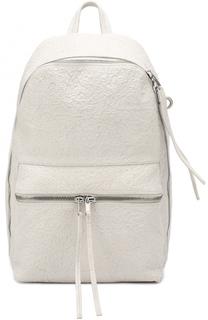 Кожаный рюкзак с эффектом крэш Rick Owens