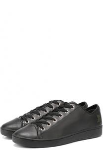 Кожаные кеды Brayde на шнуровке DKNY