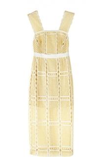 Облегающее кружевное платье с завышенной талией Alice McCall