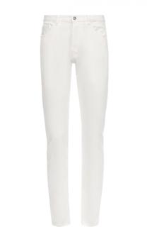 Джинсы прямого кроя из эластичного хлопка Valentino