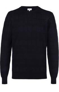Джемпер фактурной вязки из смеси шерсти и шелка Brioni