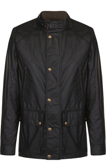 Хлопковая куртка на молнии с воротником-стойкой Belstaff