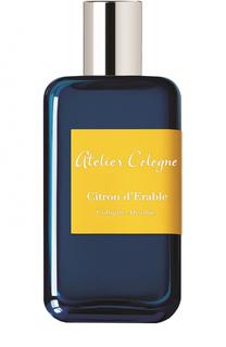 Парфюмерная вода Citron DErable Atelier Cologne