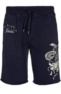 Шорты с вышивкой и карманами Polo Ralph Lauren