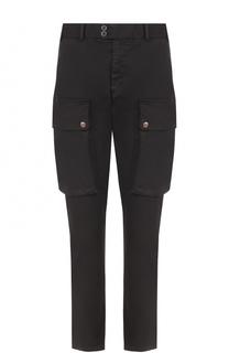 Хлопковые брюки карго с заниженной линией шага No. 21