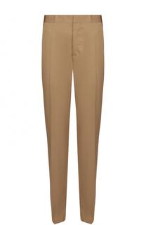 Хлопковые брюки чинос Lanvin