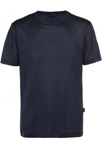 Хлопковая футболка с принтом Pal Zileri