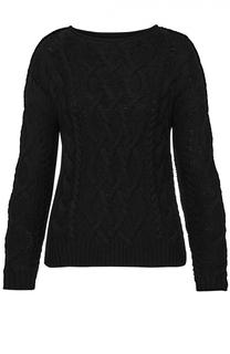Укороченный пуловер фактурной вязки с круглым вырезом Denim&Supply by Ralph Lauren