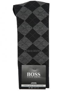 Носки из смеси шерсти и хлопка BOSS