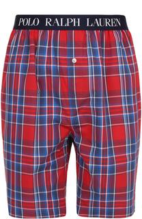Хлопковые домашние шорты свободного кроя Ralph Lauren