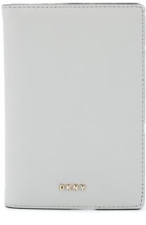 Кожаная обложка для документов DKNY