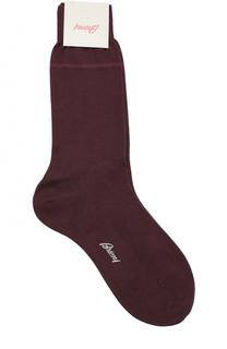 Хлопковые носки с добавлением шелка Brioni