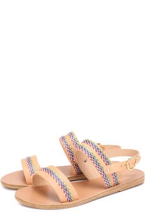 Кожаные сандалии Dinami с декором Ancient Greek Sandals