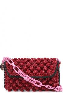 Плетеная сумка на цепочке M Missoni