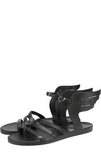 Резиновые сандалии Ikaria с декором Ancient Greek Sandals