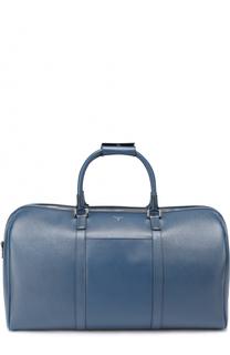 Кожаная дорожная сумка с плечевым ремнем Serapian