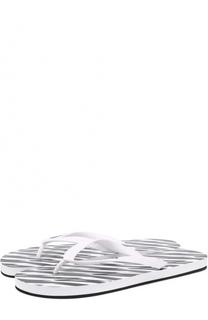Резиновые шлепанцы Dsquared2