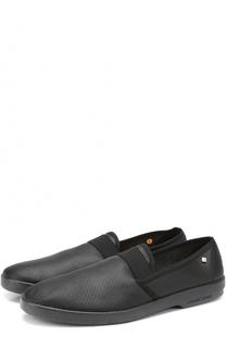 Кожаные эспадрильи с перфорацией Rivieras Leisure Shoes