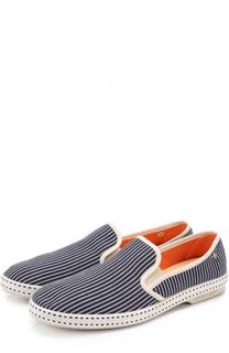 Текстильные эспадрильи на резиновой подошве Rivieras Leisure Shoes