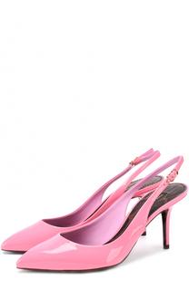 Лаковые туфли Bellucci на шпильке Dolce & Gabbana