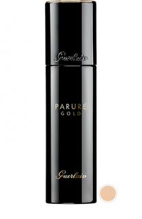 Тональное средство Parure Gold, оттенок 11 Бледно-розовый Guerlain