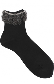 Хлопковые носки с декоративной отделкой Antipast