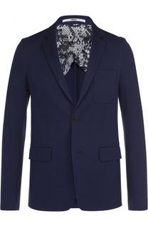 Хлопковый однобортный пиджак Kenzo