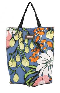 Складная сумка-шоппер с принтом Marni