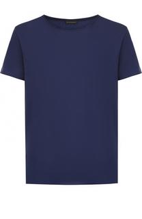 Хлопковая футболка с круглым вырезом Baldessarini