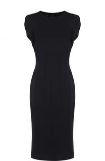 Приталенное платье без рукавов Escada