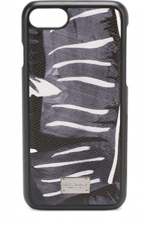 Кожный чехол для iPhone 7 с принтом Dolce & Gabbana