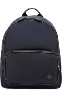 Текстильный рюкзак с внешним карманом на молнии Giorgio Armani