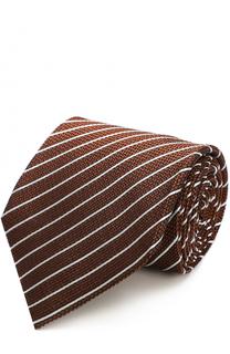 Шелковый галстук в полоску Tom Ford