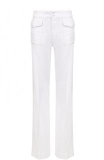 Расклешенные джинсы со стрелками и накладными карманами Victoria by Victoria Beckham