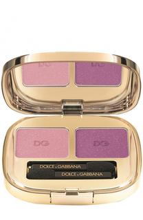 Тени для век Duo, оттенок 102 Tropical Pink Dolce & Gabbana