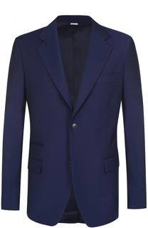 Шерстяной однобортный пиджак Stella McCartney