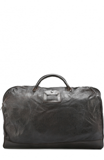 Кожаная дорожная сумка с эффектом крэш Numero 10