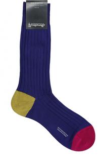Хлопковые носки с контрастной отделкой Pantherella