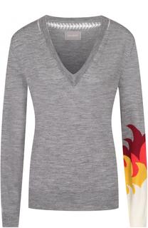Пуловер прямого кроя с V-образным вырезом Zadig&Voltaire Zadig&Voltaire