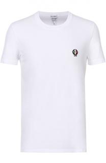 Хлопковая футболка с круглым вырезом Dolce & Gabbana