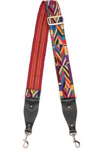 Ремень для сумки Guitar с вышивкой Native Couture Valentino