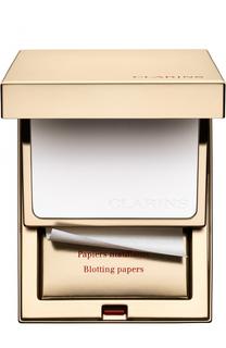 Салфетки и пудра с матирующим эффектом Kit Pores & Matite Clarins